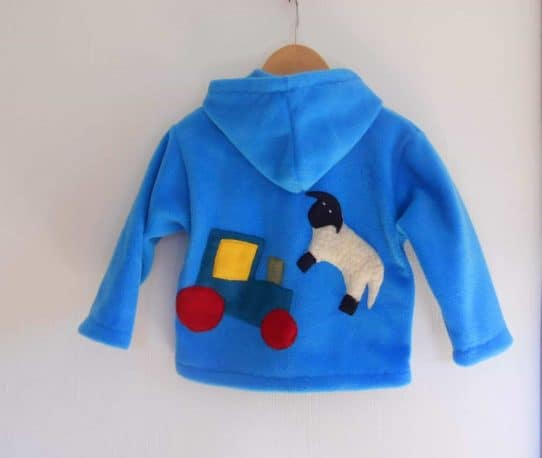 handmade Kids Fleeces