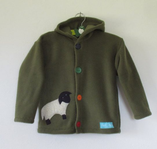 Kids Fleece Hooded Jacket
