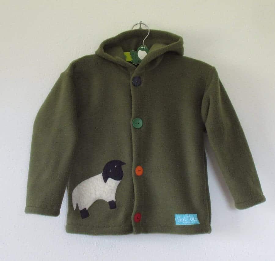 Kids Fleece Hooded Jacket