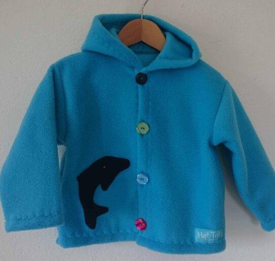 Childrens Hooded fleece jacket