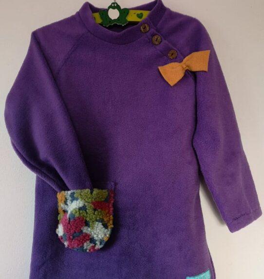 Fleece Dress For Girls