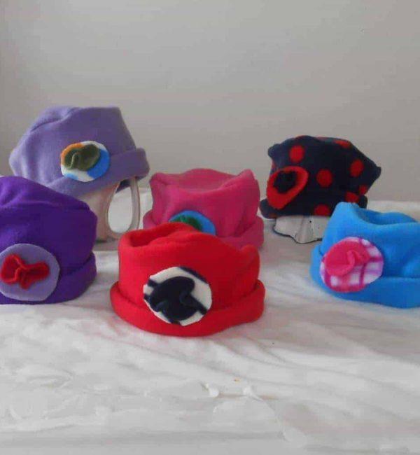 Girls Fleece Hat