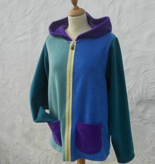 Ladies Fleece Jacket Zip