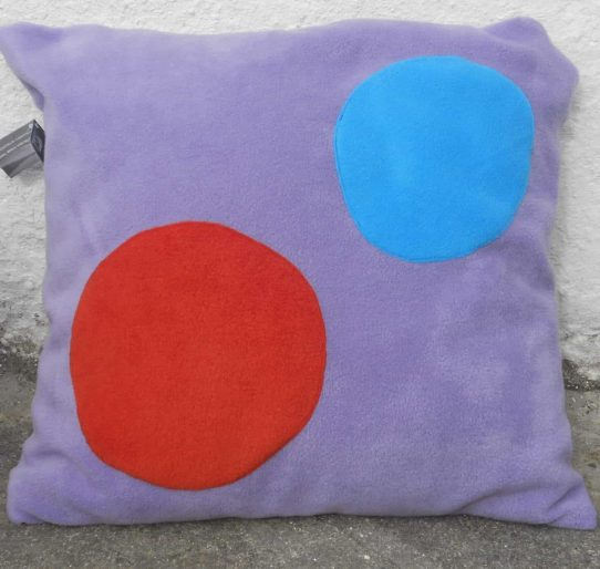 Fleece Motif Pillow Case