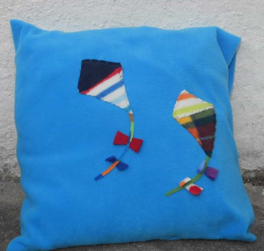 Motif Fleece Pillow Case