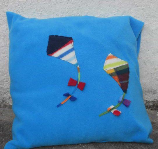 Motif Fleece Pillow Case