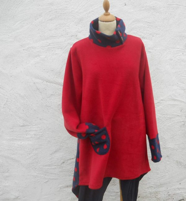 Ladies Fleece Tunic