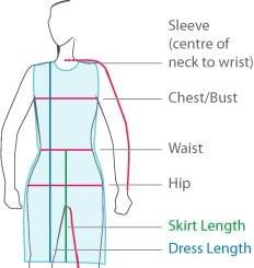 Ladies Size Chart