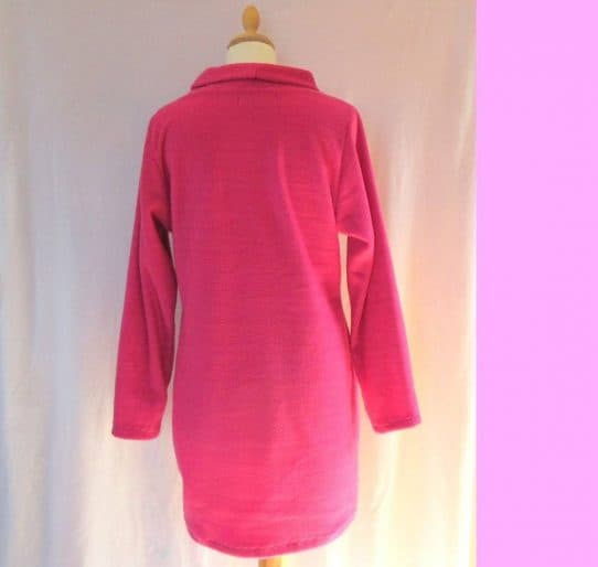 womens fleece dress