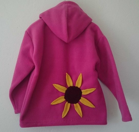 Older Girls Hooded Fleece