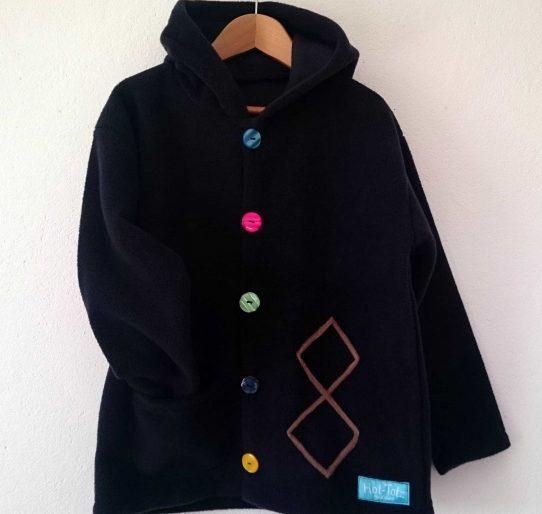 older children's fleece jacket