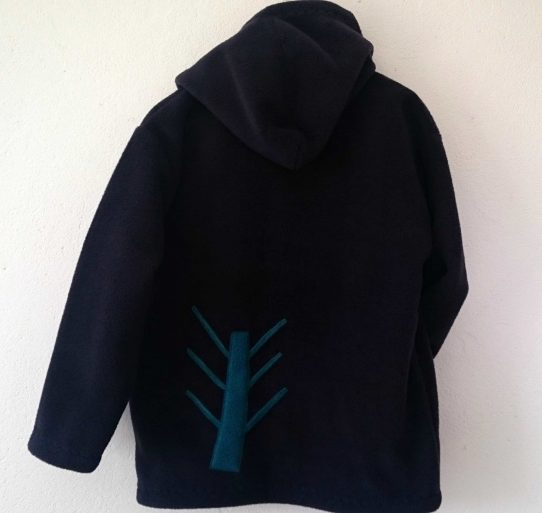 older kids hooded Fleece