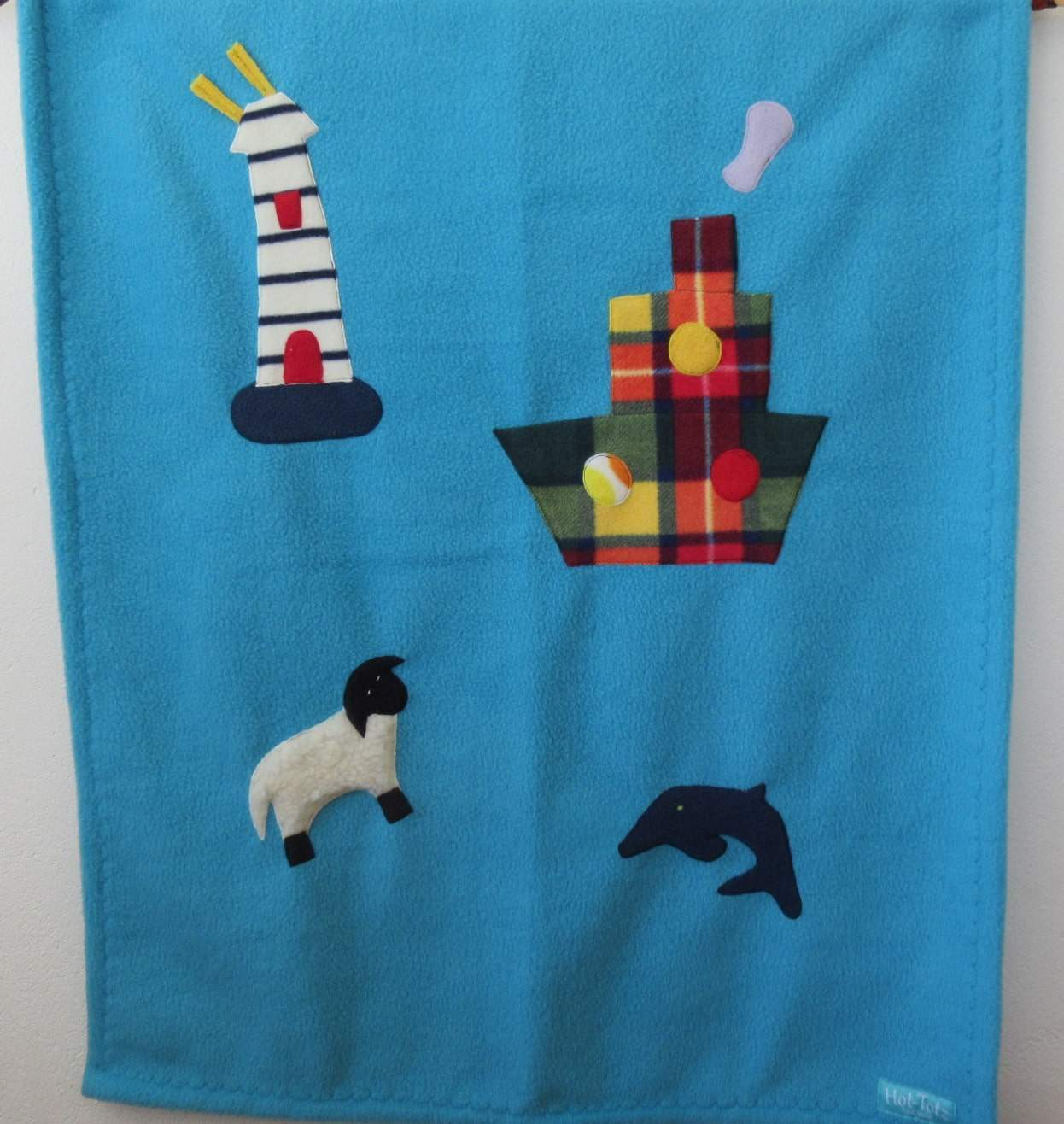 Baby Blanket Ship to Shore