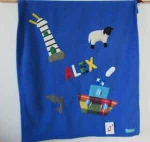 Fleece Baby Blanket