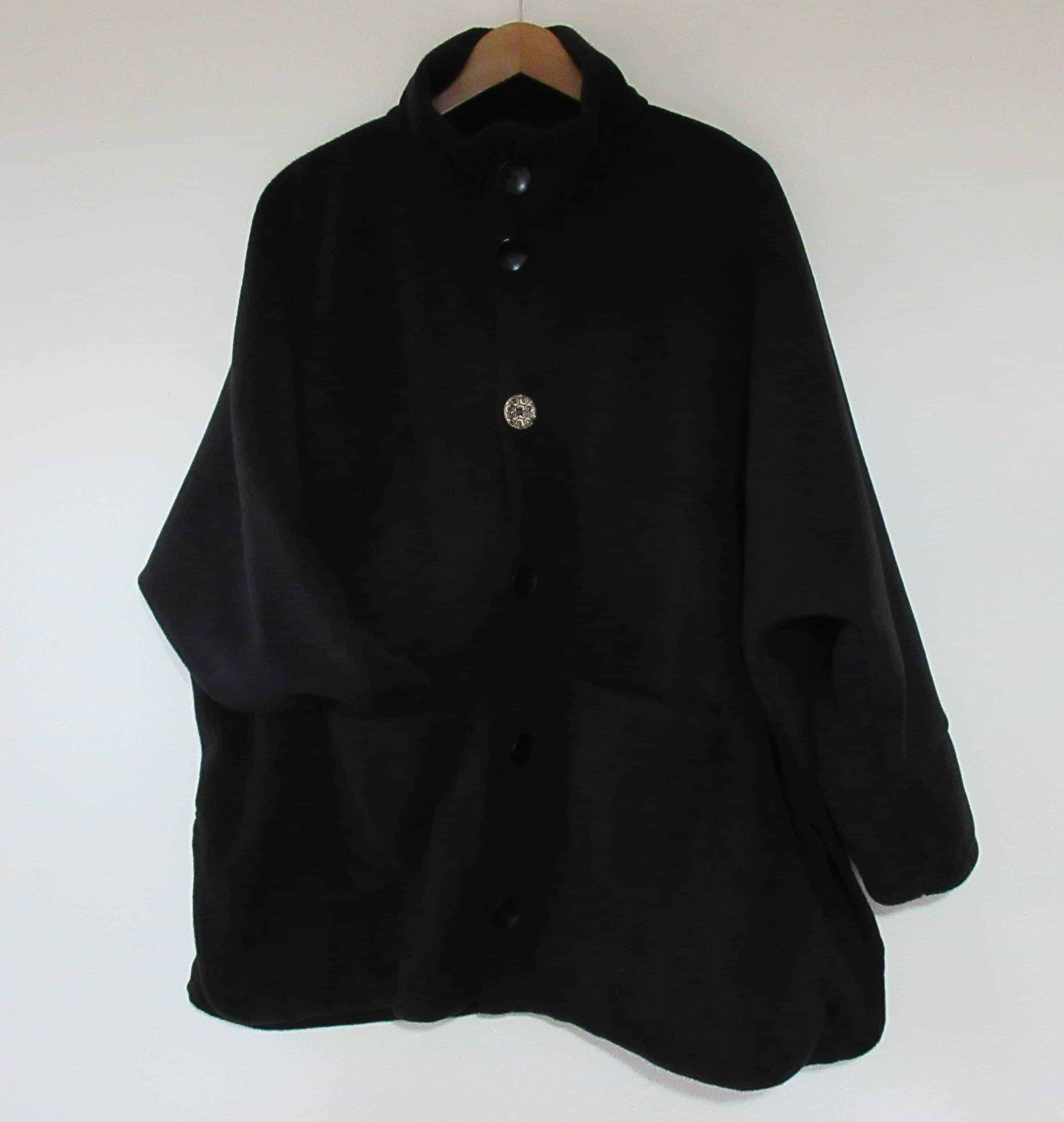 Short Fleece Poncho