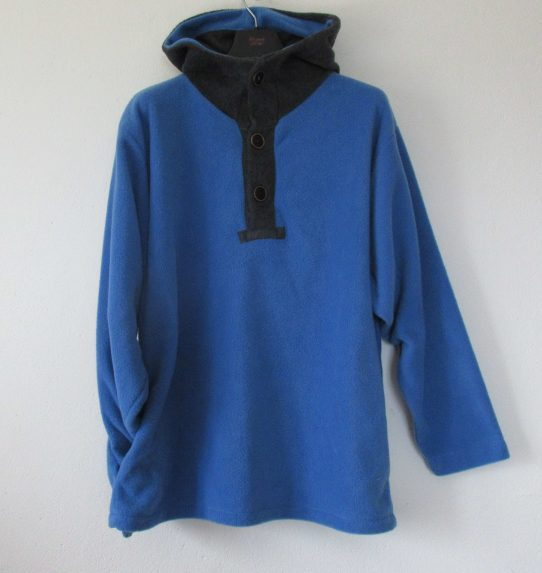 Mens Hooded Fleece