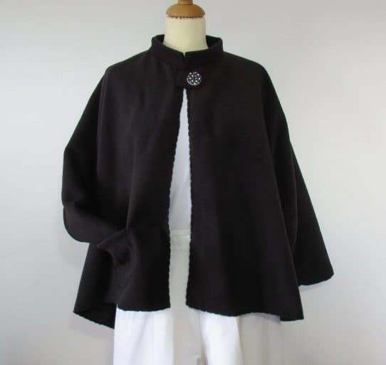 Ladies Fleece Cape