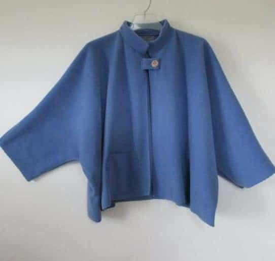 Short Fleece Cape