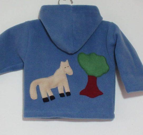 Irish Fleece Clothing Kids Hoodie Horse