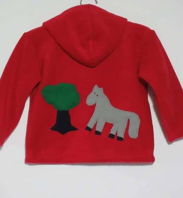 Kids Hoodie Horse