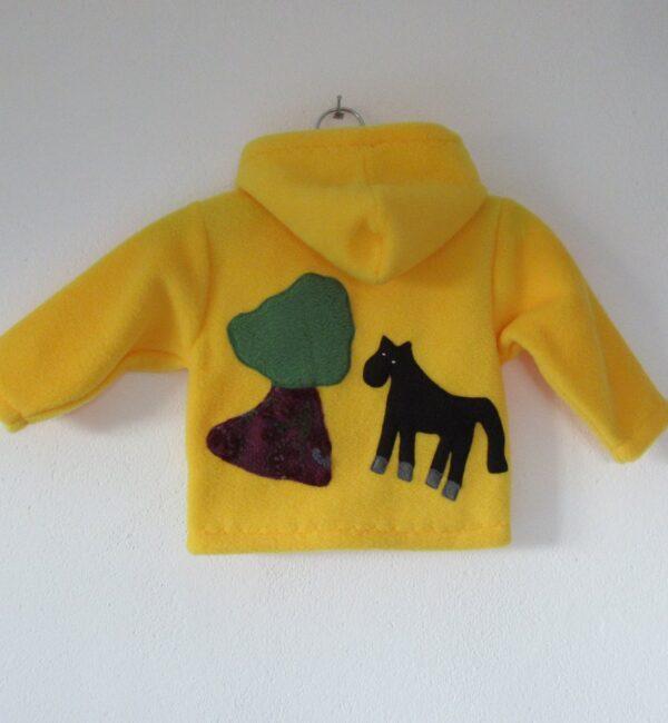 Warm Kids Hoodie 'Horse'