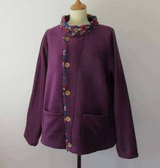 Womens smart fleece jacket