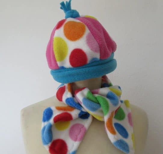 Kids Hat and Scarf Set