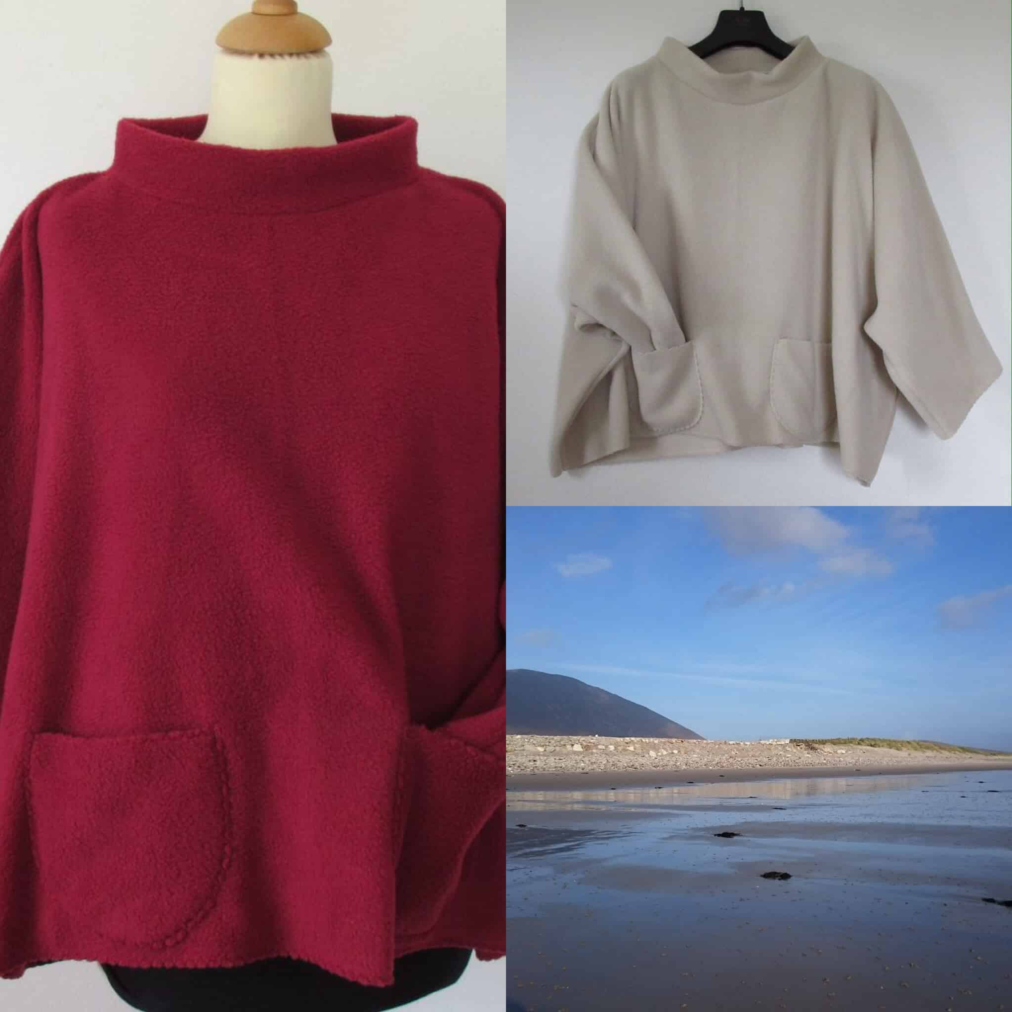 warm cape sweater