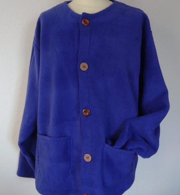 Ladies fleece cardigan
