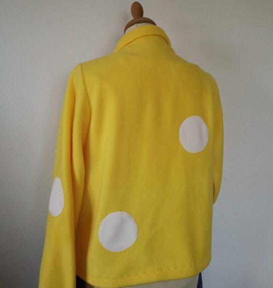 unique handmade fleece jacket