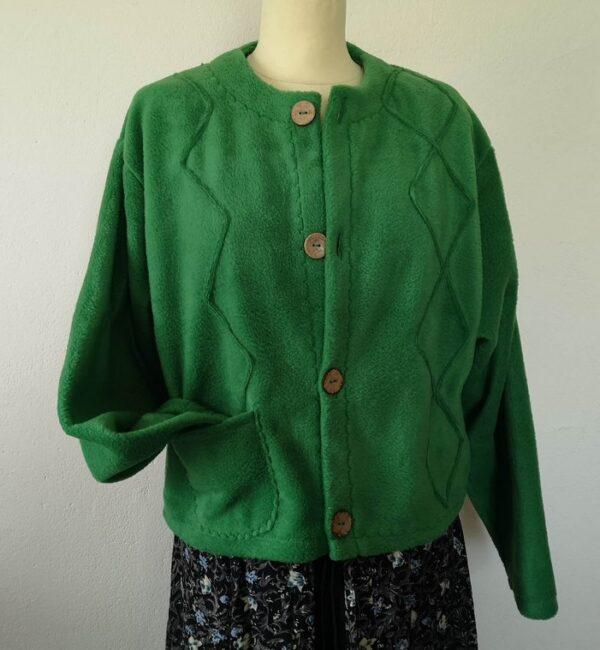 Unique Fleece Cardigan for Women